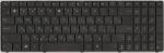 Клавиатура для ноутбука ASUS A53T/A53U/K53B/K53T/K53U/K53Z/K73B/K73T/X53B/X53S/X53T/X53U/X73B/X73T, аналог, новая, черная, RUS