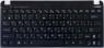 Клавиатура 04GOA292KRU00-2 для нетбуков Eee PC Seashell Series, оригинальная, топкейс, БУ, черная, RUS