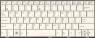 Клавиатура 04GOA191KRU10-2 для ноутбука Asus EeePC 1001, 1001HA, 1001PX, 1005, 1005HA, 1008, 1008HA, оригинальная, ASUS, БУ, белая, RUS