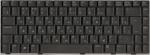 Клавиатура 04GNCB1KRU10-1 для ноутбука ASUS N81xx, A8xxx, F8xxx, Z99xx, W3xx, аналог, новая, черная, RUS