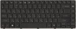 Клавиатура для ноутбука Gateway NV49C/Packard Bell Easynote NM85/NM87 NSK-AM30R 9Z.N1P82.30R, новая, черная, RUS