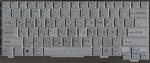 Клавиатура для ноутбука Sony Vaio VGN-TX, аналог, новая, серебристая, RUS