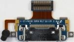 Разъем системный GH59-11549A для планшета Samsung P6200 Galaxy Tab 7.0 всборе со шлейфом и микрофоном, оригинальный, новый