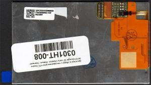Дисплей в сборе с тачскрином для HTC Desire A8181/Google G7 sony, аналог, новый, черный