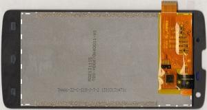 Дисплейный модуль (матрица+тачскрин) для телефона Philips Xenium W8510, 003330004801, оригинальный, новый, черный