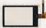 Тачскрин (сенсор) для телефона Philips Xenium W626, 433900333051, оригинальный, новый, черный