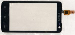 Тачскрин (сенсор) для телефона Philips Xenium W732, 433900720361, оригинальный, новый, черный