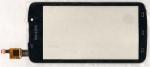 Тачскрин (сенсор) для телефона Philips Xenium W536, 003330003741, оригинальный, новый, черный