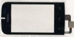 Тачскрин (сенсор) для телефона Philips Xenium W336, 003330003971, оригинальный, новый, черный