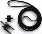 """Ремень каретки 24"""" HP DesignJet 500/800 C776960182, в комплекте с роликом, оригинальный, новый"""