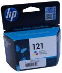 Картридж струйный HP 121 цветной CC643HE
