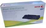 Тонер-картридж черный Xerox 108R00909