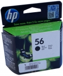 Картридж струйный HP 56 black C6656AE