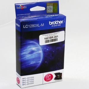 Картридж струйный Brother LC1280XLM magenta для MFC-J 5910 / 6510 / 6710 / 6910, оригинальный, Brother