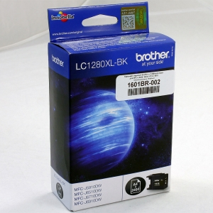 Картридж струйный Brother LC1280XLBK black для MFC-J 5910 / 6510 / 6710 / 6910, оригинальный, Brother