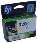 Картридж струйный HP 920XL yellow CD974AE