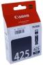 Картридж струйный Canon 425 black PGI-425PGBK, оригинальный, новый