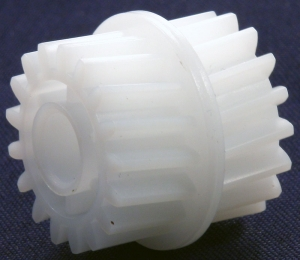 Шестерня привода блока закрепления 17/17T HP LJ P3005, аналог, Boost, новая, RU5-0958