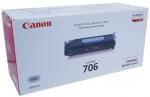 Тонер-картридж черный Canon 706