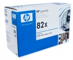Тонер-картридж черный HP 82X, C4182X для LJ8100/LJ815(Оригинальный, HP)