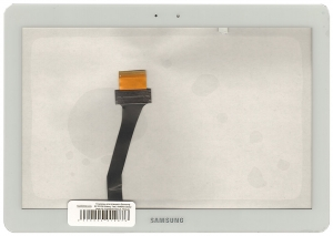 Тачскрин для планшета Samsung P5100/N8000 Совместимый, Новый, Белый