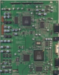 Видеоплатаvideo board RF-043A 6870VM0481E для плазменной панели LG RT-42PX11 (шасси PDP42V6) и др. БУ