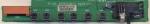 Плата кнопок управления RF-043A 6870VS2018A для плазменной панели LG RT-42PX11 (шасси PDP42V6) и др. БУ