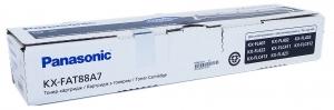 Тонер-картридж черный Panasonic KX-FAT88A для KX-FL 401 / 402 / 403 / 422 / 423 Оригинальный, Panasonic