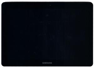 Дисплейный модуль (матрица+тачскрин) для Samsung GT-5100/5110 Galaxy Tab 2 10.1 Оригинальный, Всборе с шасси, Samsung, БУ, Черный