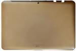 Задняя часть корпуса в сборе с заглушками, кнопками громкости и кнопкой вкл. для Samsung GT-P5100/5110 Galaxy Tab 2 10.1 Оригинальный, Samsung, БУ, Серый
