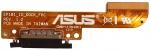 Разъем системный для планшета ASUS TF101 (EP101_IO_DOCK_FPC) всборе со шлейфом Оригинальный, ASUS, БУ