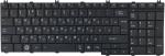 Клавиатура для ноутбука Toshiba C650/660/670 Совместимый, Новый, Черный, RUS
