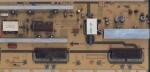 Модуль инвертора с блоком питания (psu & invertor) H37F1-9SS BN44-00262A для ЖК телевизора Samsung LE37B550A5W и др. БУ