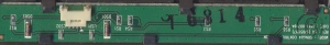 Плата кнопок управления bn41-00749a для ЖК телевизора Samsung LE37S71B и др. БУ