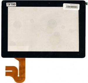 Тачскрин для планшета ASUS TF700 Совместимый, Новый, Черный