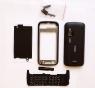 Корпус для Nokia C6-00 всборе с клавиатурой Совместимый, Новый, Черный