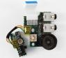 Плата с разъемами AUDIO, WiFi, Volume для ноутбука Toshiba Satellite M30X M35X Оригинальный, Toshiba, БУ