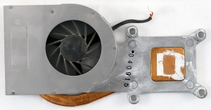 Вентилятор (кулер) для ноутбука Toshiba Satellite Equium M30X M35X M40X БУ
