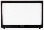 Рамка матрицы для ноутбука ASUS K53Z X53Z A53Z X53U K53U K53T, оригинальная, ASUS, Б/У, черная, AP0J1000A00
