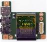 Плата с разъемами AUDOI, MIC, USB, Cardreader для ноутбука Lenovo V560 B560 БУ