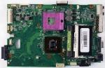 Материнская плата K40IN для ноутбука ASUS K40/K50 rev. 2.3G Оригинальный, ASUS, БУ