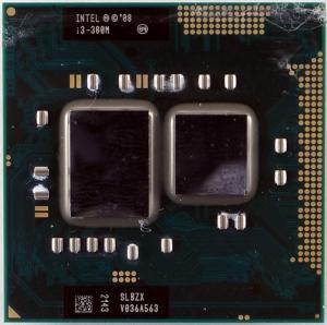 Процессор для ноутбука Intel Core i3-380M SLBZX 2,533GHz Socket G1 (rPGA988B) БУ