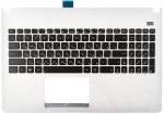 Kлавиатура 90R-NMO2K1K80U для ноутбука Asus X501 топкейс Оригинальный, Новый, Белый, RUS