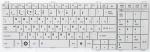 Клавиатура для ноутбука Toshiba C650/660/670 Совместимый, Новый, Белая, RUS