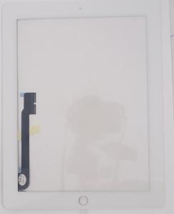 Тачскрин для планшета Apple iPad 3 A1403/A1416/A1430, iPad 4 A1458/A1459/A1460 Grade A+, Без монтажной ленты по периметру, Оригинальный china, Новый, Белый
