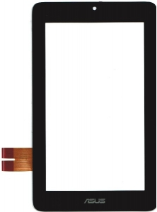 Тачскрин (сенсор) для планшета ASUS MeMo Pad ME172/MeMo Pad ME172V Аналог, Новый, Черный