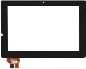 Тачскрин (сенсор) 41.1AUP304.203 для планшета ASUS Padfone Station P03 для Padfone 2 A68 Без монтажной ленты по периметру, Аналог, Новый, Черный