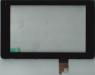 Тачскрин (сенсор) fpc-s72060-1 v00 для планшета Huawei MediaPad 7/MediaPad 7 3G всборе с рамкой для крепления к корпусу, Новый, Черный