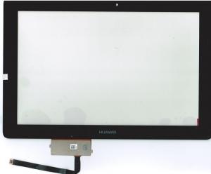 Тачскрин (сенсор) для планшета Huawei MediaPad 10 FHD/MediaPad 10 FHD 3G Без монтажной ленты по периметру, Оригинальный, Новый, Черный