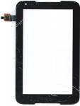 Тачскрин (сенсор) NTP070CM352001 для планшета Lenovo IdeaTab A1000 16Gb Без монтажной ленты по периметру, Аналог, Новый, Черный